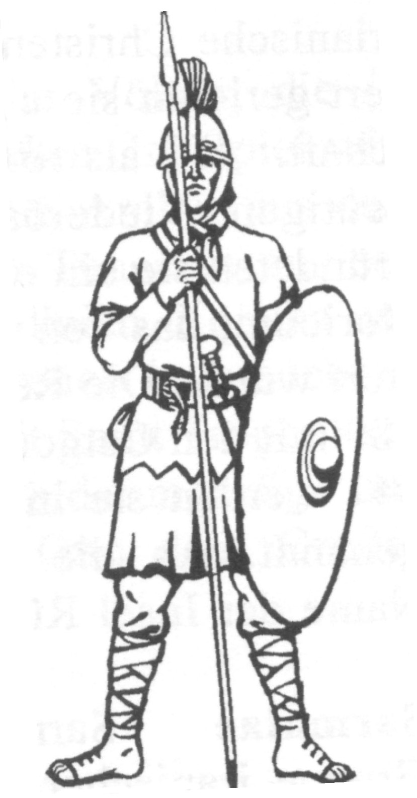 roman and greek soldiers coloring pages